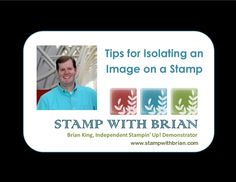 Isolating Images on a Stamp