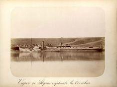 Vase și șlepuri capturate la Corabia