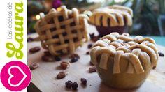 Postres para San Valentin♥Pie de manzana dentro de una manzana♥ Apple pie in an apple