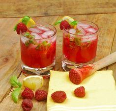 коктейль с лимончелло и малиной