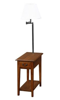 Apple Valley Chairside Lamp End Table