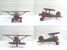 超希少 砂澤陣氏 直筆 鑑定証付 砂澤ビッキ/BIKKY 木彫り 作品名 飛行機 パラソル翼 保管品 1点物 1967年~1975年頃 製作_画像2