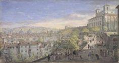 Gaspar van Wittel - La passeggiata di Villa Medici