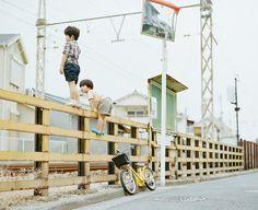 Hideaki Hamada is my most favorite photographer. His photograph reminds me of my childhood. http://instagram.com/hamadahideaki/