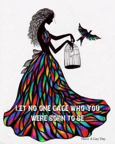 Pretty. I don't quite think I'd want the quote though. Possibly just the girl and bird/birdcage. Really like this one though!!!