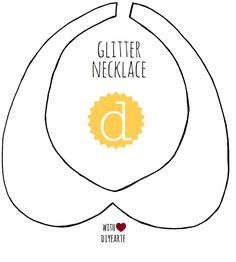 Diyearte - DIY: NECKLACE TEMPLATE