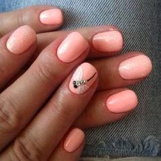 The best Peach colored nails Peach Colored Nails, Magnetic Nails, Peach Colors, Cosmetology, Manicure And Pedicure, Nail Colors, Nail Designs, Nail Art, Makeup