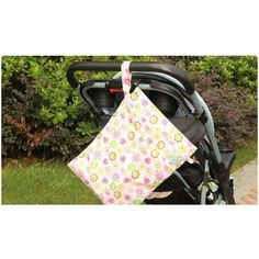 Baby Wetbag Baby Diaper Bag for Stroller Waterproof Nappy Bags Mummy Backpack Reusable Wet/Dry Double Zipper Pocket SAD-4117