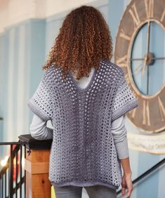 Two-Rectangle Sweater Free Crochet Pattern Saved to Adobe