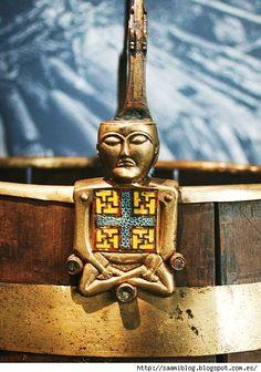The decoration on the basket, found on the ship Osebergskom