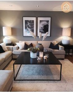 Minimalist Living Room Ideas - Need reminders on mastering the ins and also outs. - Minimalist Living Room Ideas – Need reminders on mastering the ins and also outs of minimal layout - Living Room Inspiration, Inspiration Design, Design Ideas, Workout Inspiration, Interior Inspiration, Home Living Room, Living Room Lamps, Classy Living Room, Simple Living Room Decor