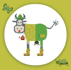 instand download pdf cross stitch embroidery от stickvorlageyayaya, €3.00
