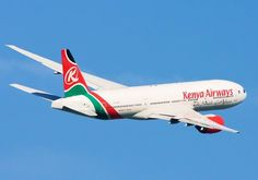 Kenya Airways Boeing 777-2U8/ER