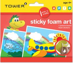 Inspires creativity and logic and consists of sticky foam shapes which are matched to the picture board. Foam Crafts, Arts And Crafts, Foam Shapes, Picture Boards, Creativity, Tower, Kids, Pictures, Inspiration