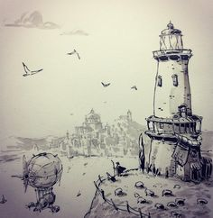 regram @ullikummi Lighthouse