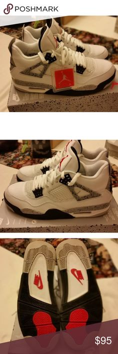 d4fc25d7074a70 Air Jordan 4s Worn 5x make me offers. No trades Jordan Shoes Sneakers Air  Jordans