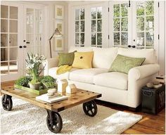 Design Tips to Decorate Small Living Rooms