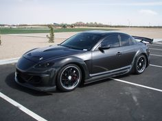 Project RX-8 Full Custom Carbon Kit by Fiber Images