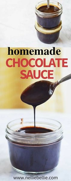 This chocolate sauce recipe tastes better, contains better ingredients, and costs less than the purchased variety. This chocolate sauce recipe tastes better, contains better ingredients, and costs less than the purchased variety. Chocolate Sauce For Cake, White Chocolate Bread Pudding, Homemade Chocolate Syrup, Chocolate Sauce Recipes, Chocolate Dipping Sauce, Homemade Caramel Sauce, Chocolate Roll, Barbacoa, Coffee Sauce Recipe