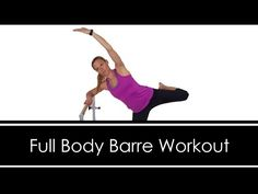 FULL BODY BARRE WORKOUT: AT HOME: Full Length 30 MINUTES: Dumbbells & Mini Ball - YouTube