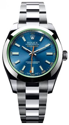 Rolex 116400GV Milgauss Steel 40mm. #rolex