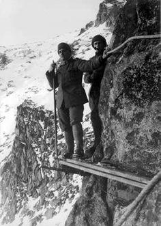 Soldati italiani sull'Adamello