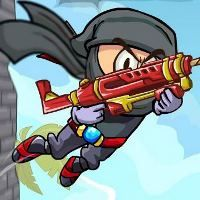 Clingy Ninja is a cute little platform puzzle game. Play Clingy Ninja on Monster Games.