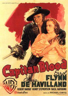 """""""Captain Blood,"""" 1935"""