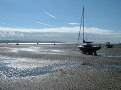 West Kirby beach, Dee estuary