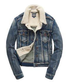 Superdry North Denim Jacket Blue