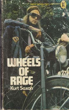 Wheels Of Rage,Oh yes of Rage. 'Some say the members are sick ( not me honest ) others see 'The Angels' as the answer to our materialistic,and deadly safe world,where there are no more hero's and no more challenges. Ed 72 Biker Movies, True Story Books, Bike Gang, English Library, Vintage Biker, Book Posters, Marvel Comic Character, Easy Rider, Stuff And Thangs