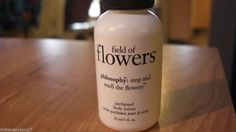 1 PHILOSOPHY FIELD OF FLOWERS Perfumed Body Lotion Travel Size 1 oz New