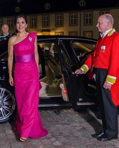 Crown Princess Mary of Denmark dazzles as she stepped out in style wearing a designer dress by David Andersen, attended the event solo as her husband, Crown Prince Frederick, has been on an official visit to China.