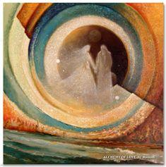 Art of Rassouli spiritual paintings, mystical artwork paintings Romantic Artwork, Spiritual Paintings, Realistic Paintings, Abstract Paintings, Artwork Paintings, Sacred Art, Sculpture, Figure Painting, Figurative Art