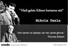 Alternatif Akımın Babası Nicola Tesla'dan Elektrik Kesintisi ile İlgili 18 Komik Caps