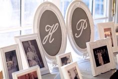 Cute special area for the wedding! & guests to look at!
