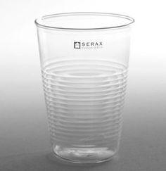 Verre à eau aspect gobelet plastique en verre (par 6) Serax