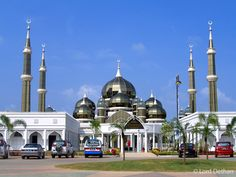 World Beautiful Mosques Pictures Kuala Terengganu, History Of Islam, Islamic Center, Beautiful Mosques, Islamic Architecture, Middle East, Muslim, Places Ive Been, Taj Mahal
