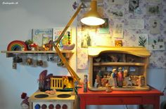 .Shelf with jars (like baby food jar nuts and bolts)