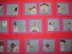 Snowmen from different perspectives   from First Grade and Fancy Free blog