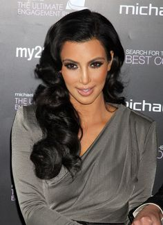 Kim+Kardashian in Kim Kardashian Presenting Ultimate Engagement Ring To World's Best Couple
