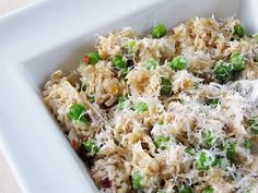Healthy crockpot chicken & brown rice - sounds good.  And I usually have all these ingredients on hand!  This is easy, simple and cheap.  I love these kind of crock pot recipes!