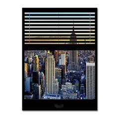 "Trademark Fine Art Window View NYC Sunset 6 by Philippe Hugonnard Wall Decor, 24 x 32"" Trademark Fine Art http://www.amazon.com/dp/B011N60ANQ/ref=cm_sw_r_pi_dp_Sv0Uvb0X01AY8"