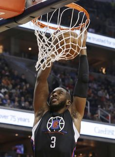 Chris Paul Throws Down Two Dunks In Clippers Win
