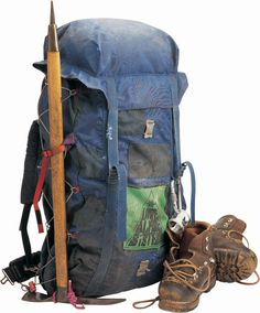 The 1968 Lowe Alpine Systems Expedition Internal Frame Pack Bushcraft Gear, Bushcraft Camping, Backpacking Gear, Hiking Gear, Hiking Backpack, Travel Backpack, Wilderness Survival, Survival Prepping, Climbing Backpack
