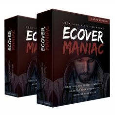 Ecover Maniac V2 is a premium-quality collection of done-for-you book covers. Ecover Maniac V2 features 80 book covers, 40 for fiction and 40 for non fiction books.