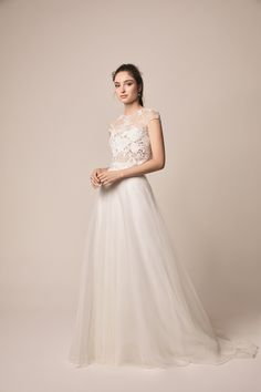 17c91d308b6 Spring Wedding Dresses by Jesus Peiro  seasonal style from the sought after  Spanish brand