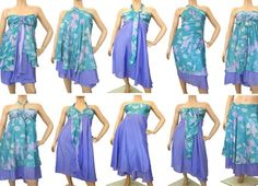 nooo its the magic wrap skirt/dress so practical :) Peach Prom Dresses, Straps Prom Dresses, Scarf Dress, Dress Skirt, Wrap Dress, Clothing Patterns, Dress Patterns, Convertible Clothing, Infinity Dress