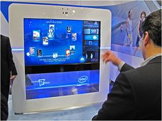 """Intel's new interactive advertising prototype is called the """"Experience Stations"""" and it's capable of interacting with users in several ways. The prototype incorporates a large-format 70-inch touchscreen displays that responds to multi-touch inputs. They have also added near field communication (NFC) capability for two-way transactions with mobile devices; and there's a 3D cameras that enables users to interact with the system using gesture-based input."""