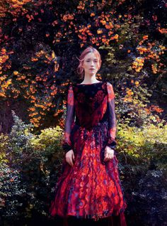 Audrey Marnay by Erik Madigan Heck for Harper's Bazaar UK October 2015